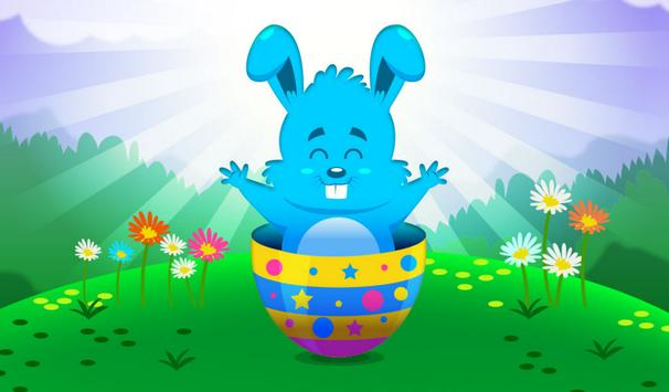 Puzzles for kids Easter poster