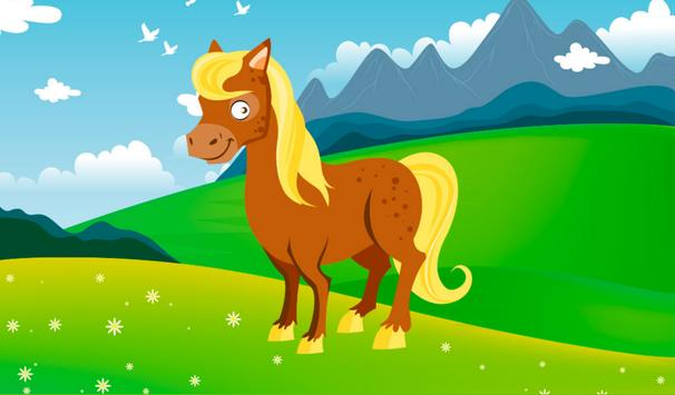 Pony puzzles poster