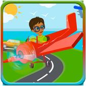 Puzzles transport icon