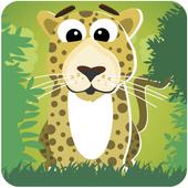 Puzzles: wild animals icon