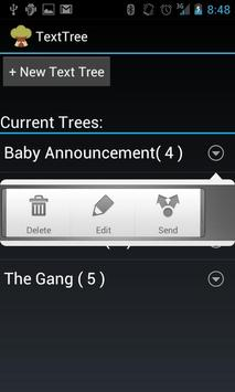 Text Tree apk screenshot