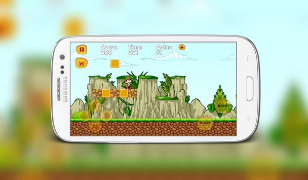 Super Boy Jungle World Adventure apk screenshot