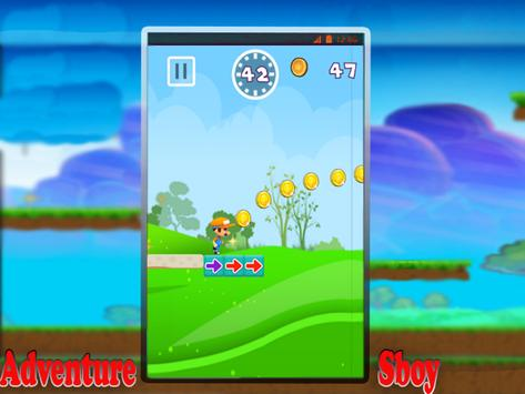Adventure Sboy World Jungle 🌺 apk screenshot