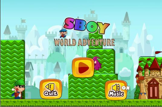 Sboy Gario World Adventure screenshot 4