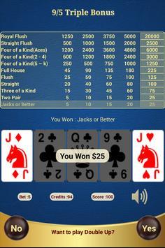 9/5 Triple Bonus Poker apk screenshot
