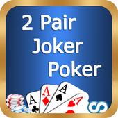 Two Pair Joker Poker icon