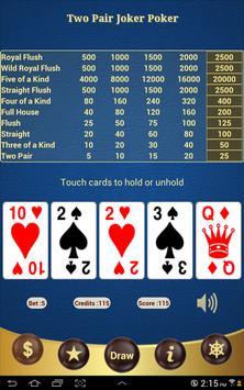 Two Pair Joker Poker apk screenshot
