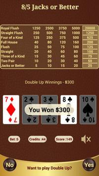 8/5 Jacks or Better Poker apk screenshot