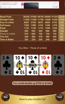 Prime Video Poker apk screenshot