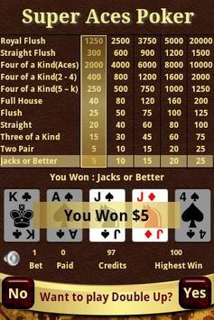 Super Aces Poker apk screenshot