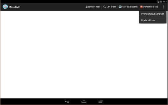 MassSms apk screenshot