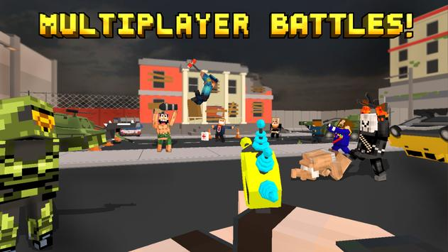 Pixel Fury: Multiplayer in 3D poster