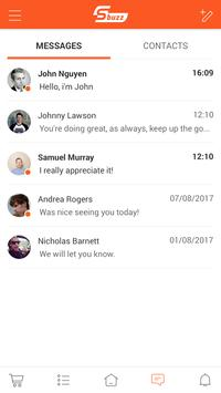Sbuzz Network apk screenshot