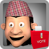Nepal Votes AR icon