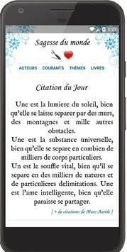 Philosophie & Sagesse du Monde poster