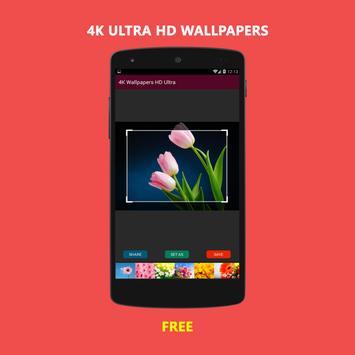 4K Ultra HD Wallpapers apk screenshot