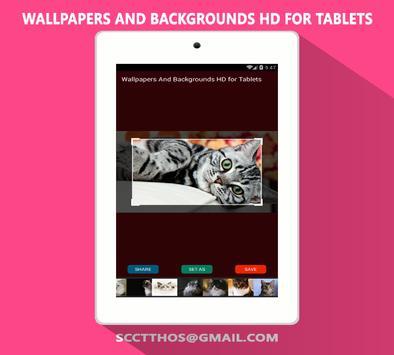 Wallpaper for Tablet apk screenshot