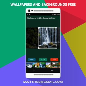 Wallpapers & Backgrounds Free apk screenshot