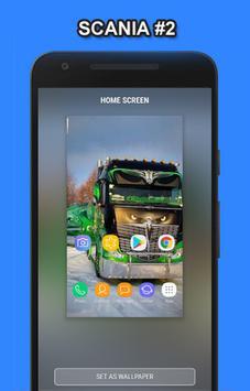 Truck Scania Wallpaper HD screenshot 1