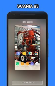 Truck Scania Wallpaper HD screenshot 2
