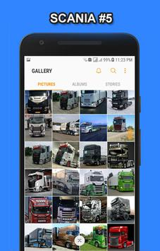 Truck Scania Wallpaper HD screenshot 4