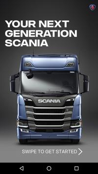 Your Next Gen Scania poster