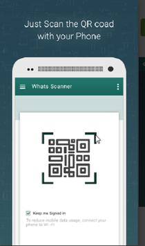 Scanner What,s app 2018 poster