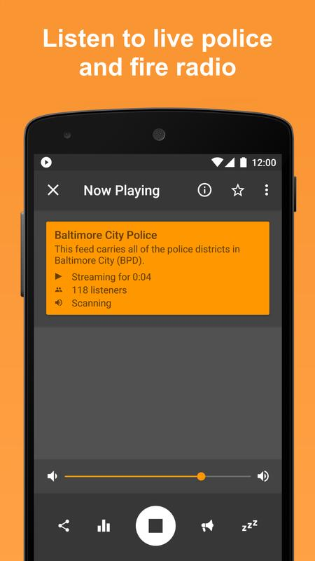 Scanner Radio: Police, Fire, and Air Traffic APK Download ...
