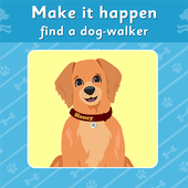MIH: find a dog-walker icon