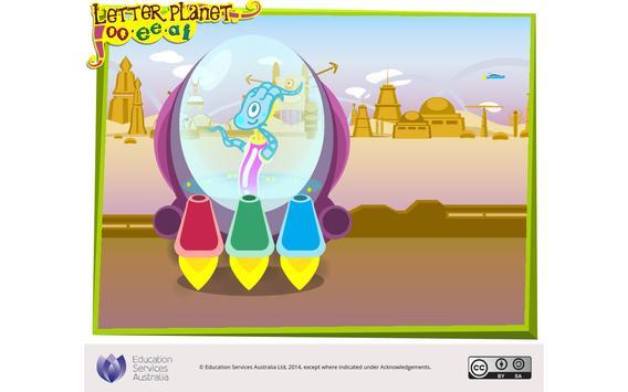 Letter planet: oo, ee, ai apk screenshot