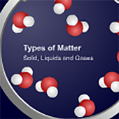 TOM: solids, liquids and gases icon