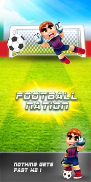 FootBall Nation 3D poster