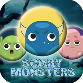 Scary Monsters Match icon