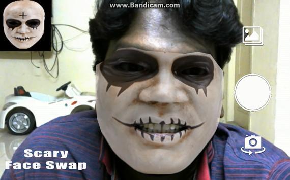 Scary Face Swap AR apk screenshot