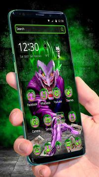 Scary Killer Joker Theme plakat