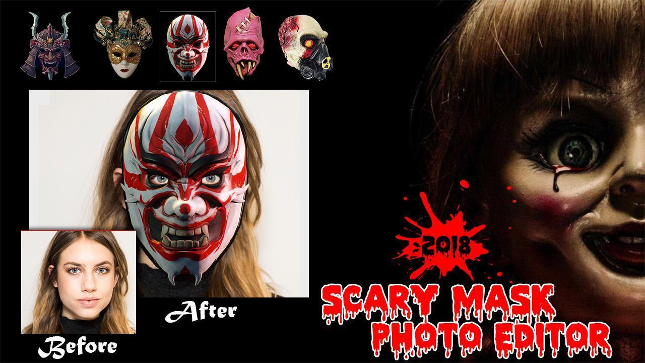 Android Icin Cadilar Bayrami Korkunc Maske Joker Maske Photo Apk