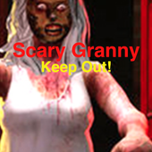 Scary Granny Scary Button icon