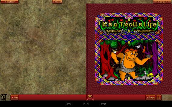 Troll Story Book Free screenshot 6
