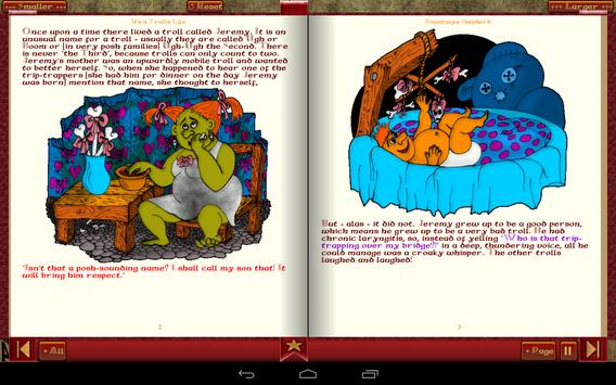 Troll Story Book Free screenshot 7