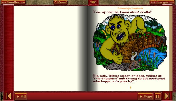 Troll Story Book Free screenshot 9