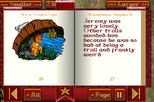 Troll Story Book Free poster