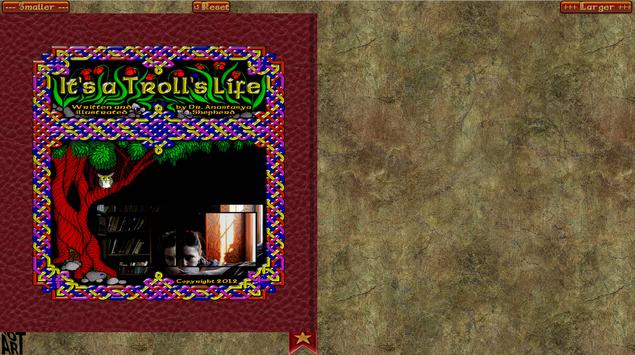 Troll Story Book Free screenshot 13