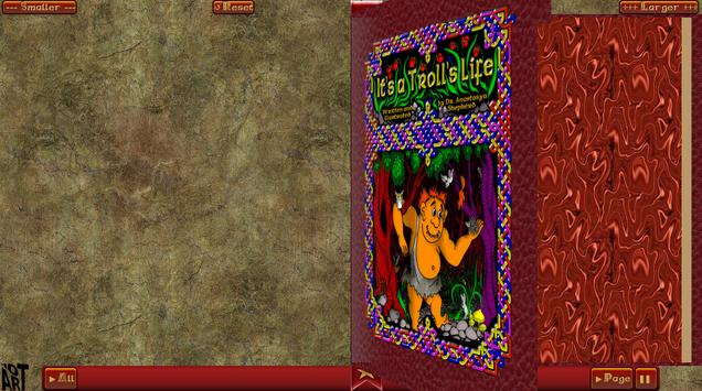 Troll Story Book Free screenshot 11