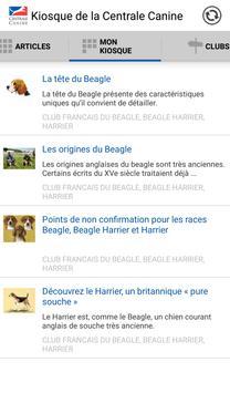 Kiosque de la Centrale Canine apk screenshot