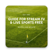 Guide for stream TV & live sports free icon