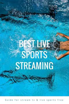 Guide for stream TV & live sports free poster