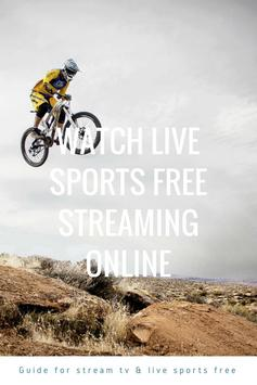 Guide for stream TV & live sports free screenshot 1