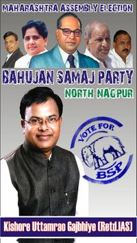BSP North Nagpur poster