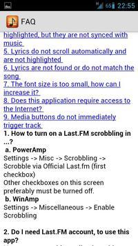 andLyrics imagem de tela 3