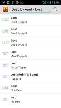 andLyrics imagem de tela 1